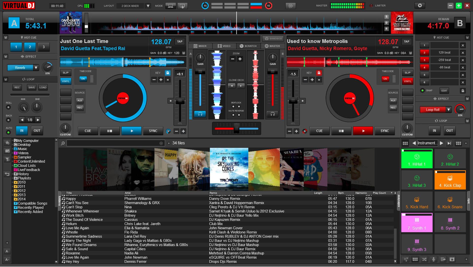 Virtual DJ Studio Patch
