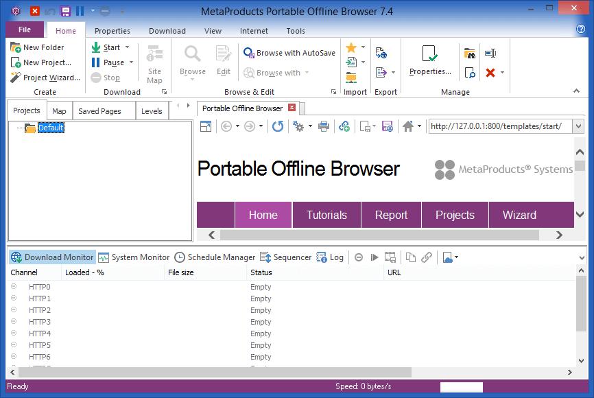 Portable Offline Browser Serial Key