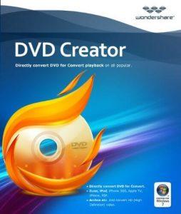 Wondershare DVD Creator Crack + Key 2020 Latest Free