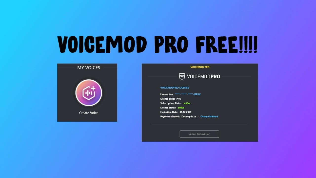 Voicemod Pro Cracked Full Version Free Download