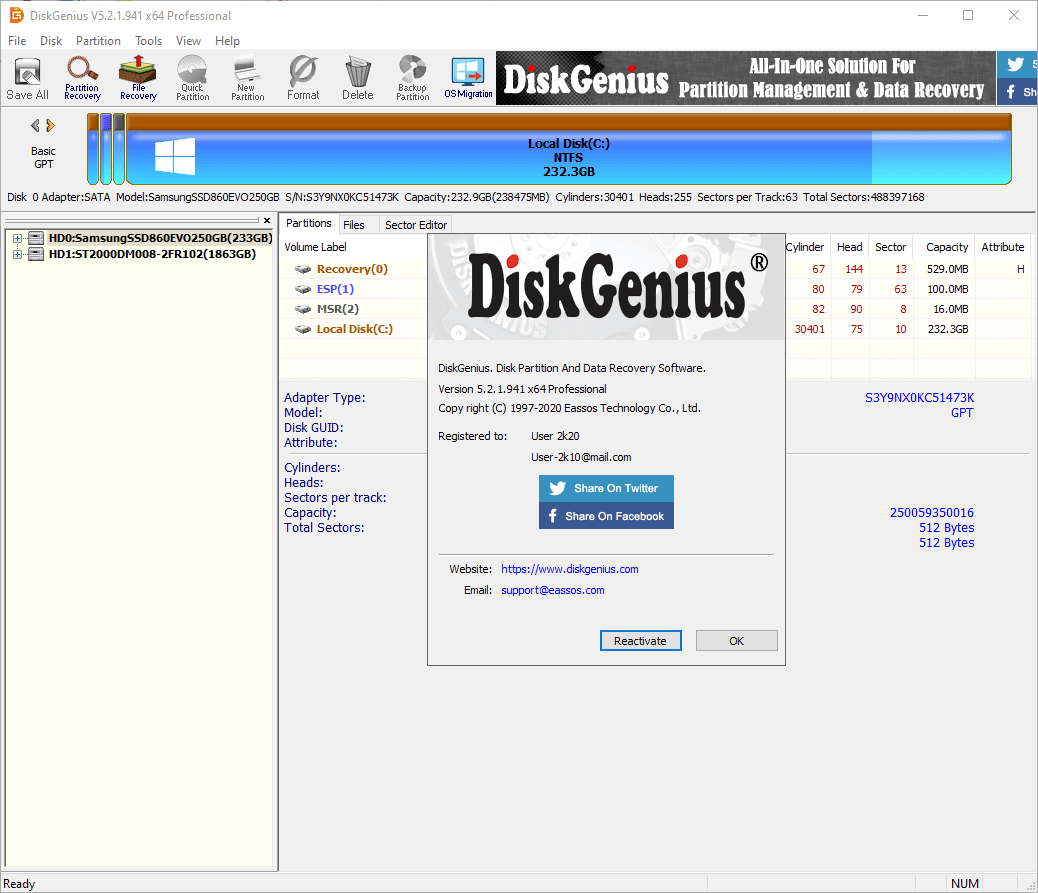 DiskGenius Professional Patch