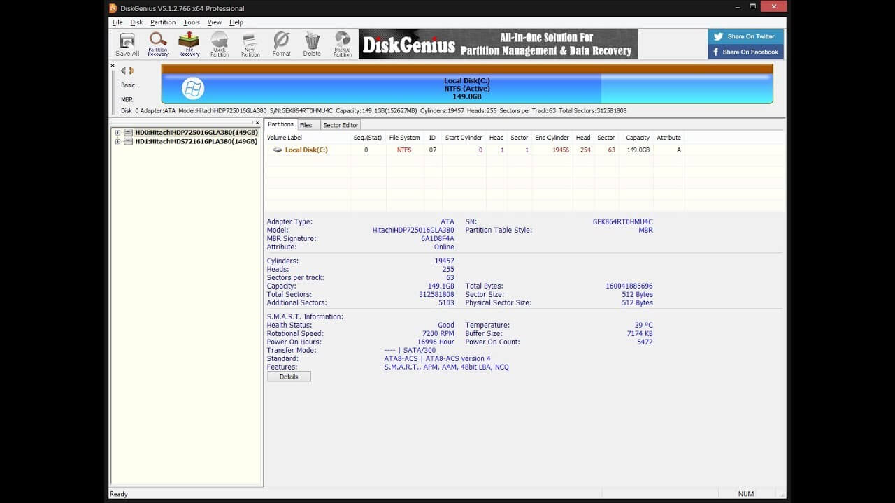 DiskGenius Professional License Number