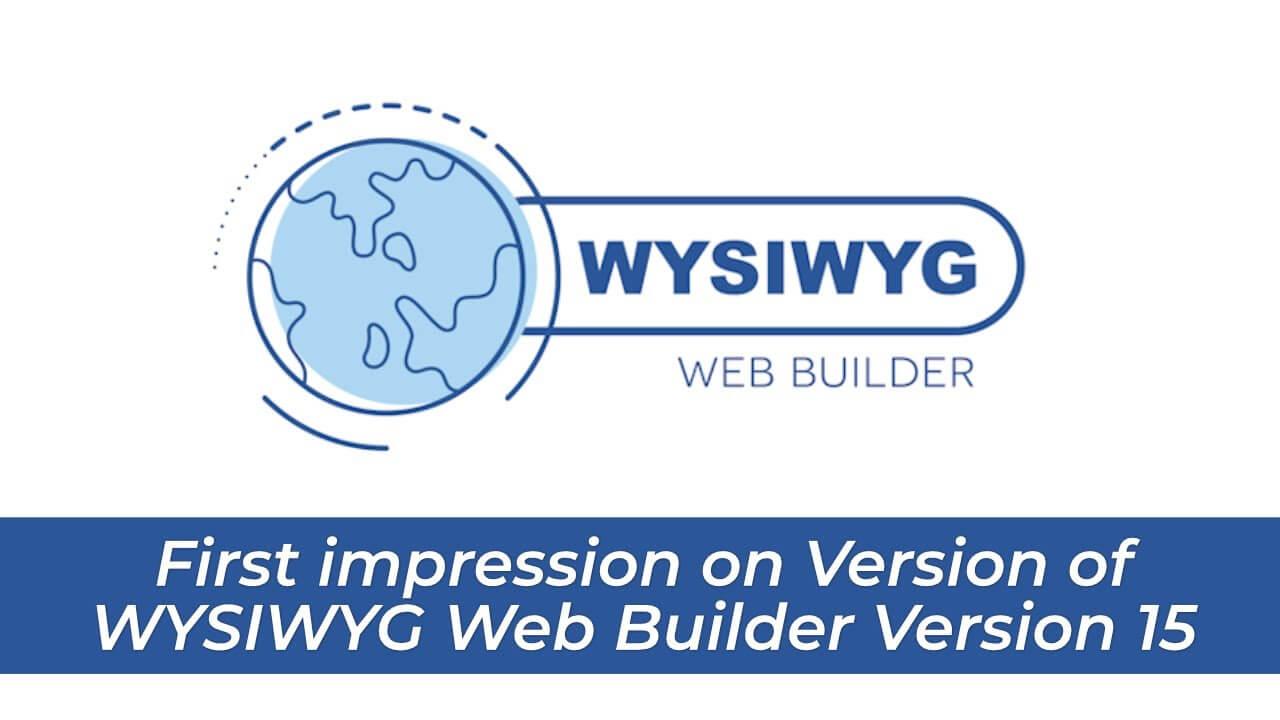 The Web Builder 15 Serial Key