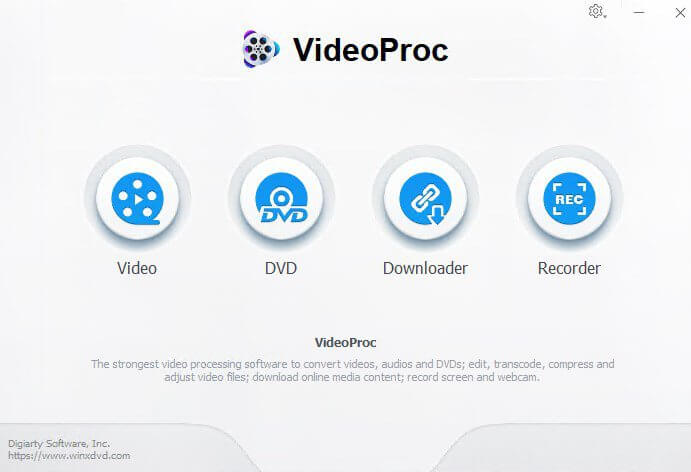 VideoProc Free Download For PC