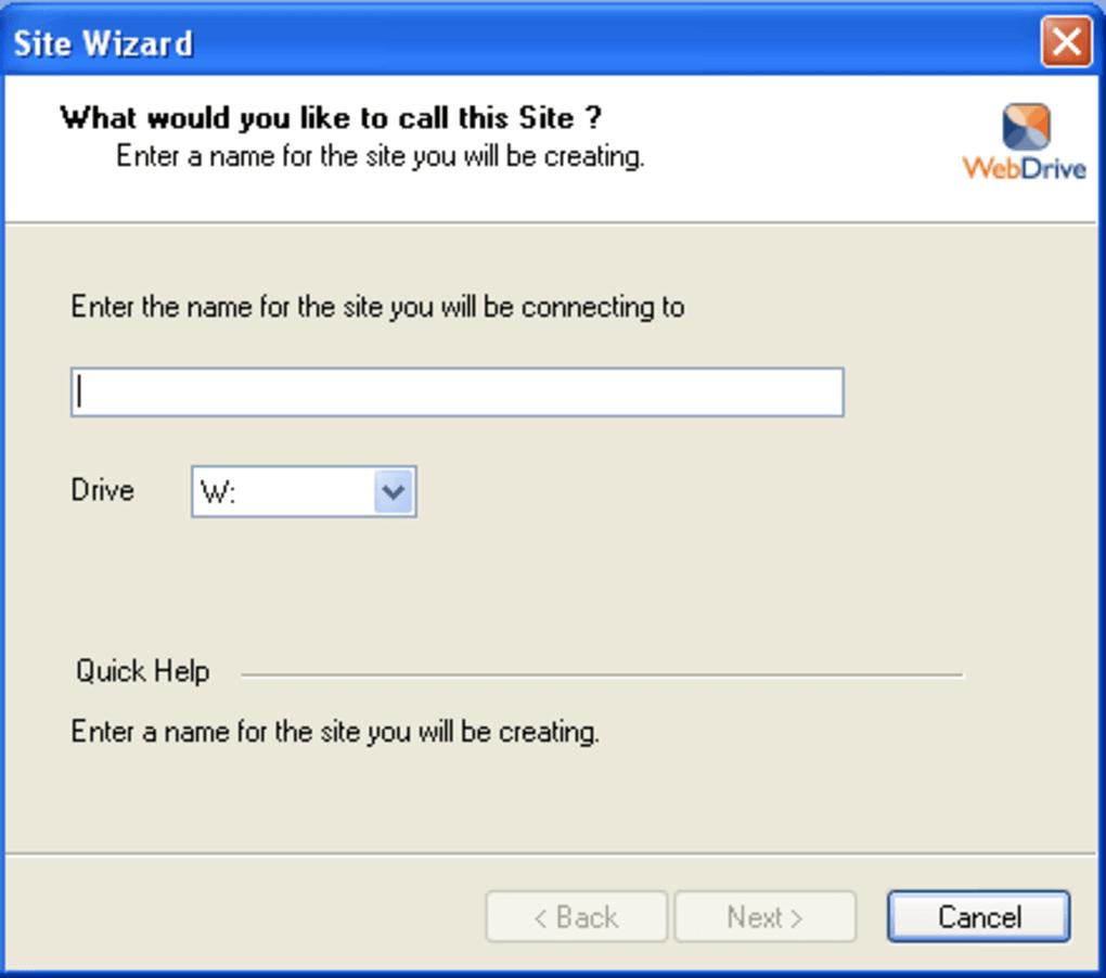 WebDrive Activation Code